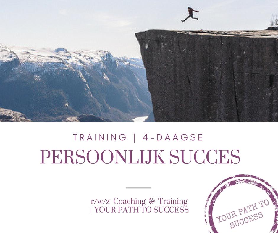 RWZ training + persoonlijk succes
